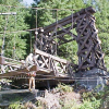 Longmire Suspension Bridge Repair